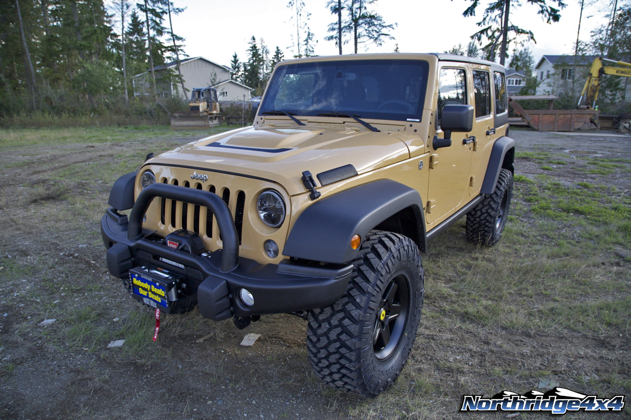 dune jeep wrangler unlimited rubicon aev build | northridge nation