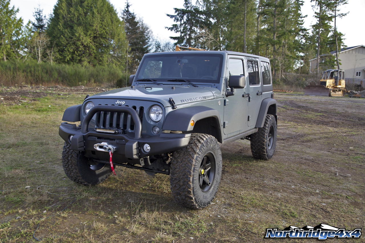 2014 anvil jeep wrangler unlimited rubicon build | northridge