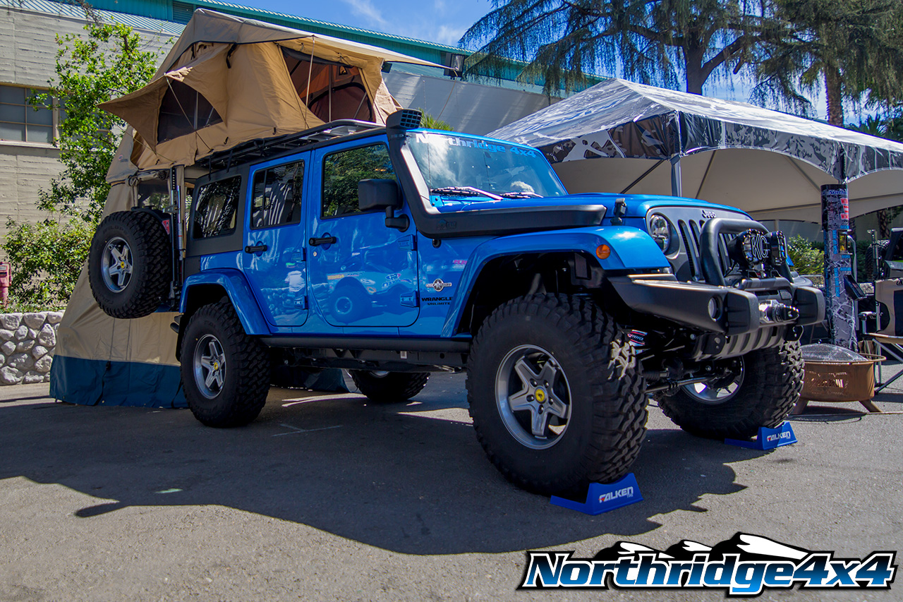 2014 Hydro Blue Jeep Jk Freedom Edition Northridge