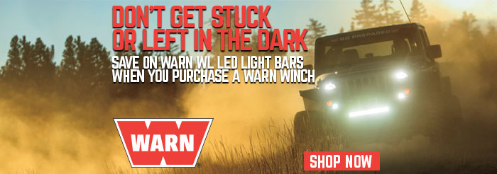 Warn wl led light bars northridge nation news purchase a warn winch and you can get up to 77 off a warn led light bar mozeypictures Images