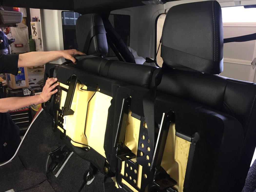 We Install The Ijkp 2 Rear Seat Recline Kit In Our 2015