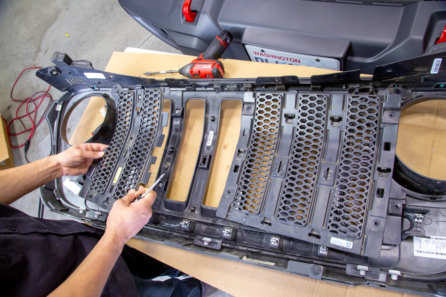 Jeep Wrangler Grill Inserts >> How to Grille Insert Jeep JL | Northridge Nation News